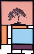 Yehudit Sasportas b. 1969, Untitled, Acrylic and
