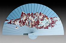 Yehudit Sasportas b. 1969, Fan, Floating Island,