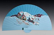 Yehudit Sasportas b. 1969, Fan, Earth up, Sky