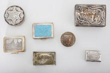 A GROUP OF SEVEN SNUFF BOXES