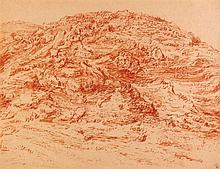 Leopold Krakauer 1890 - 1954 - Judean Mountains