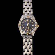 BREITLING STEEL WRISTWATCH