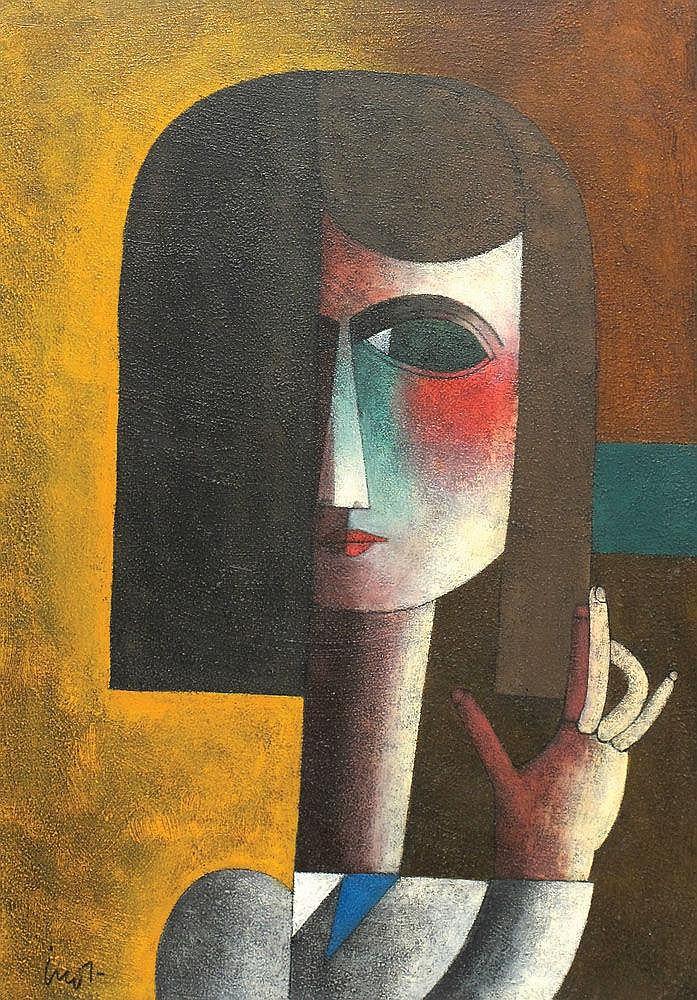 Inos Corradin, b. 1929 Girl
