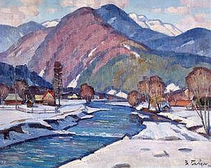 Vasily Gabda Landscape