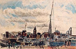 Charles Tcherniawsky 1900 - 1976 Port