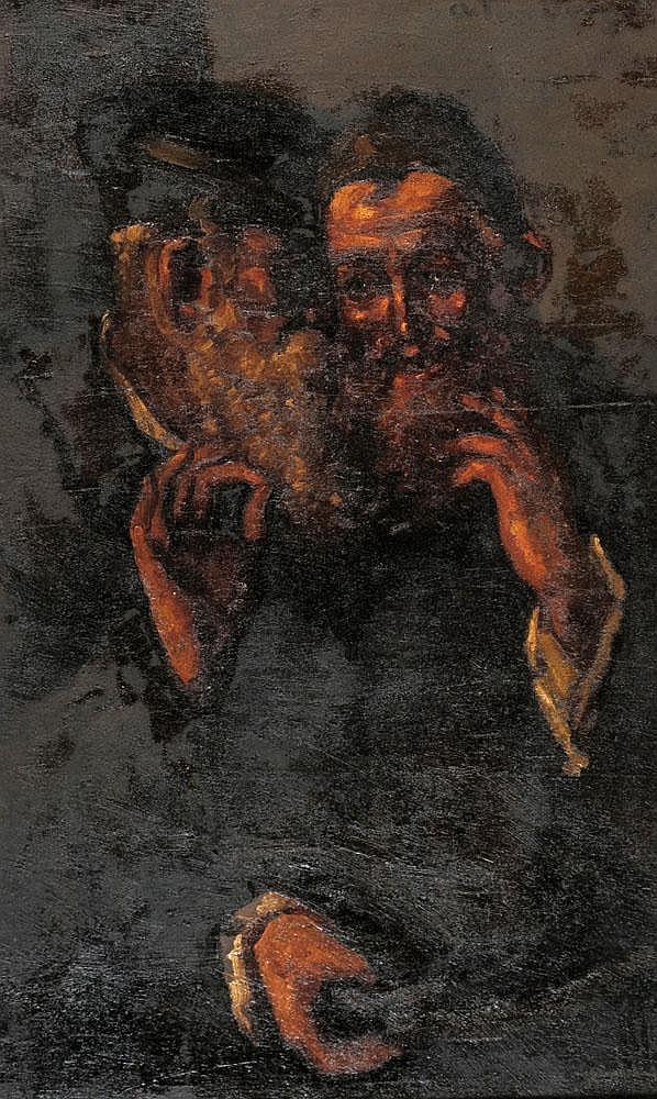 Octav Bancila 1872 - 1944 Rabbis