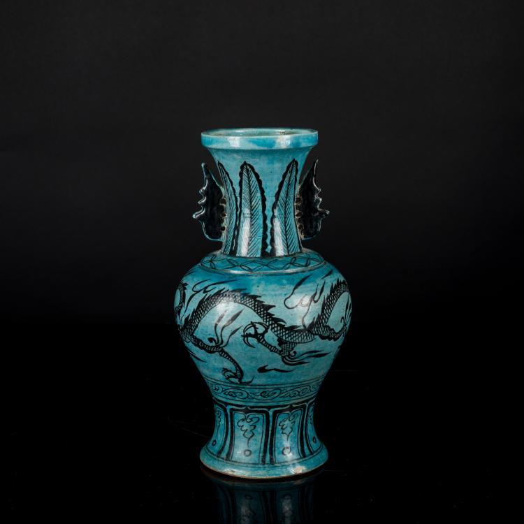 Ming Antique Cizhou StonewareVase