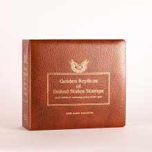 Stamp Album:Golden Replicas of USA, 22K, 1981