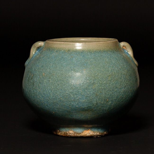 Chinese Antique Jun Ware Porcelain Water Pot