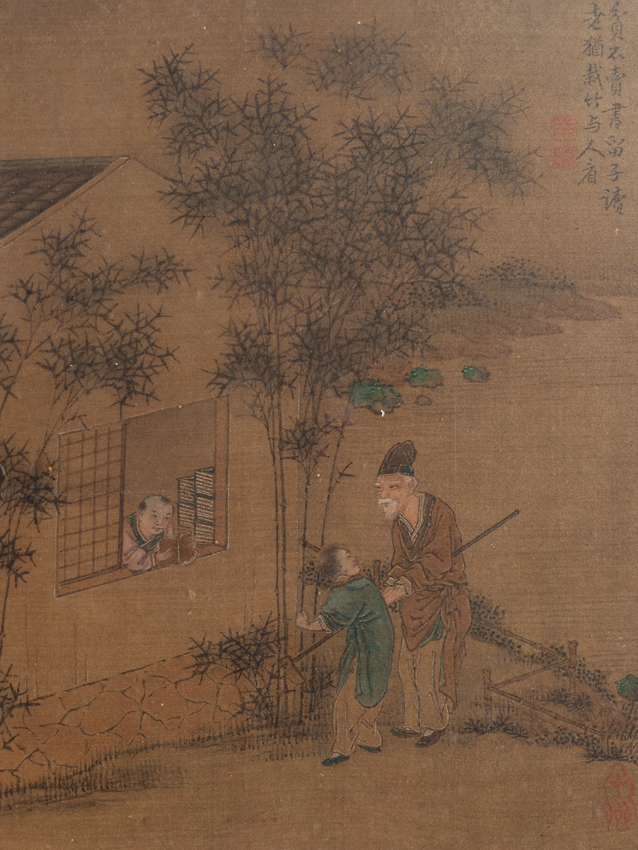 19th Chinese Antique Painting