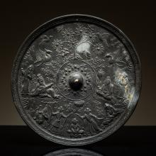 Han Style Antique Bronze Mirror