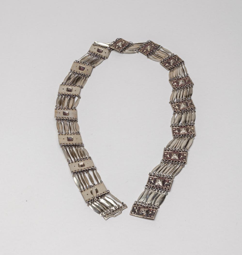 Collectible Vintage Silver Color Belt