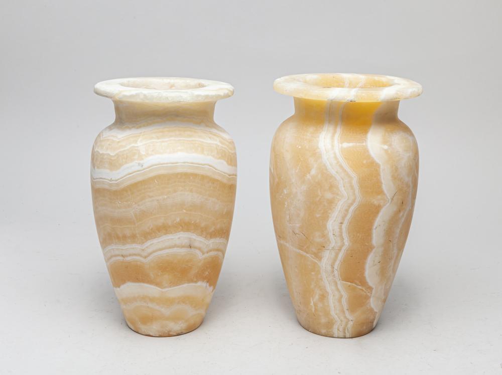 Pair of France Marble Vase