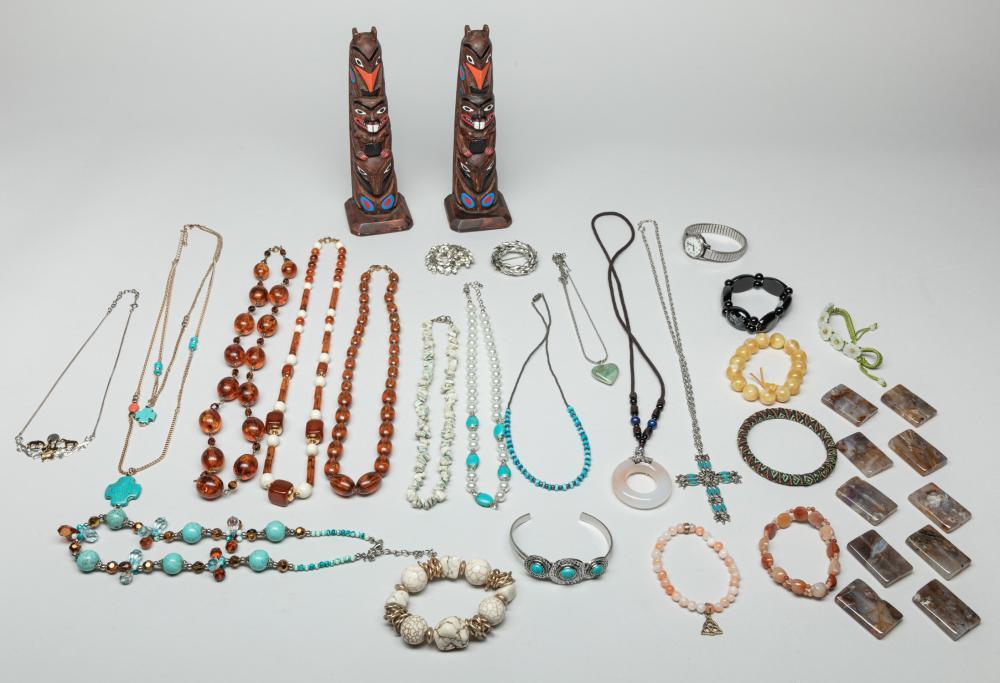 Collectible Estate Vintage Gem Stone Jewelries