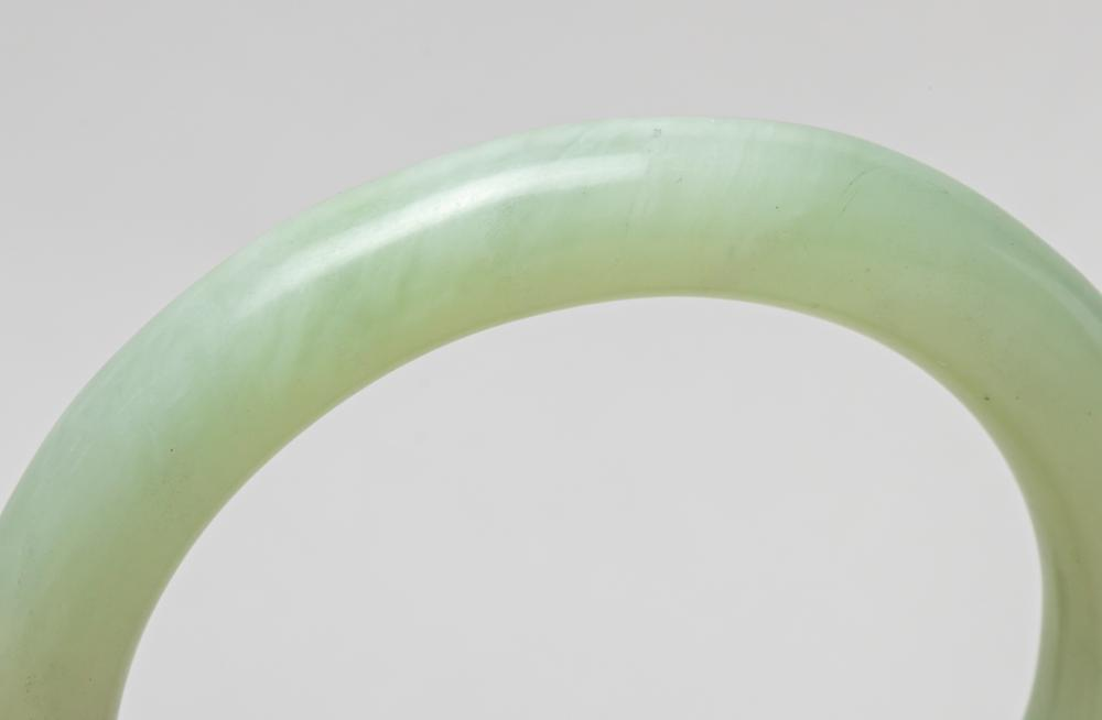 Collectible Chinese Jade Bangle