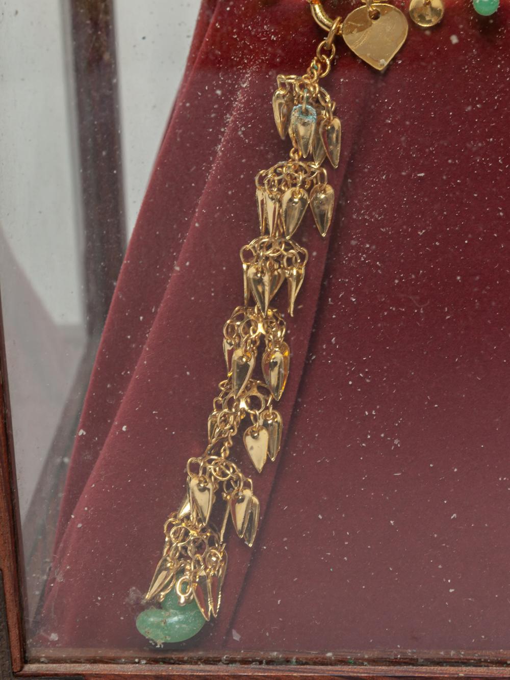 Korean 24K G/F Crown Sculpture
