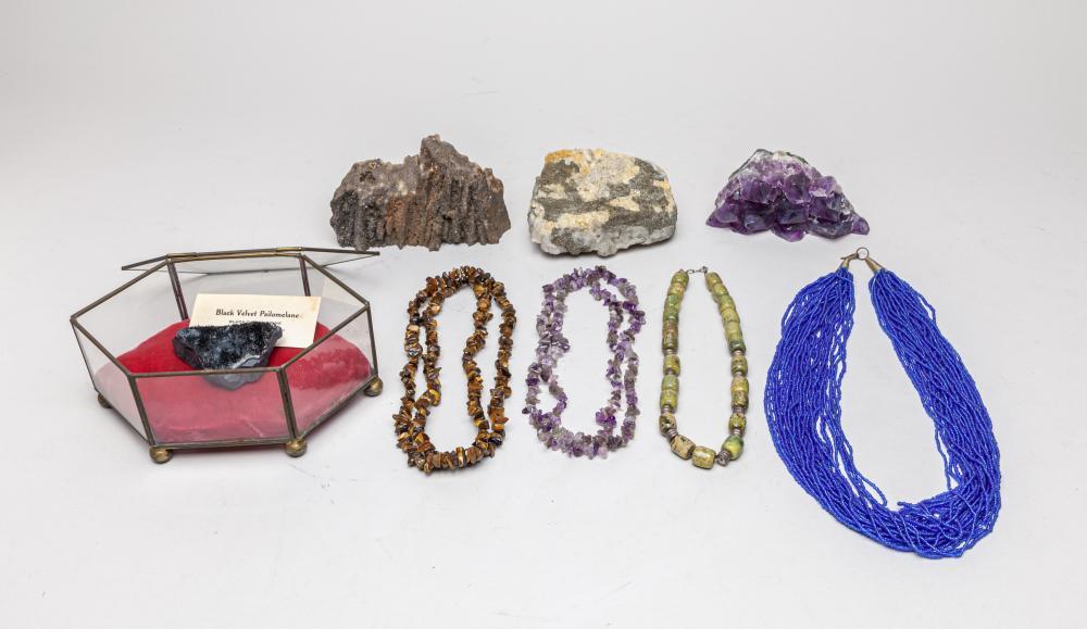 Estate English Type Gem Stone & Jewelries