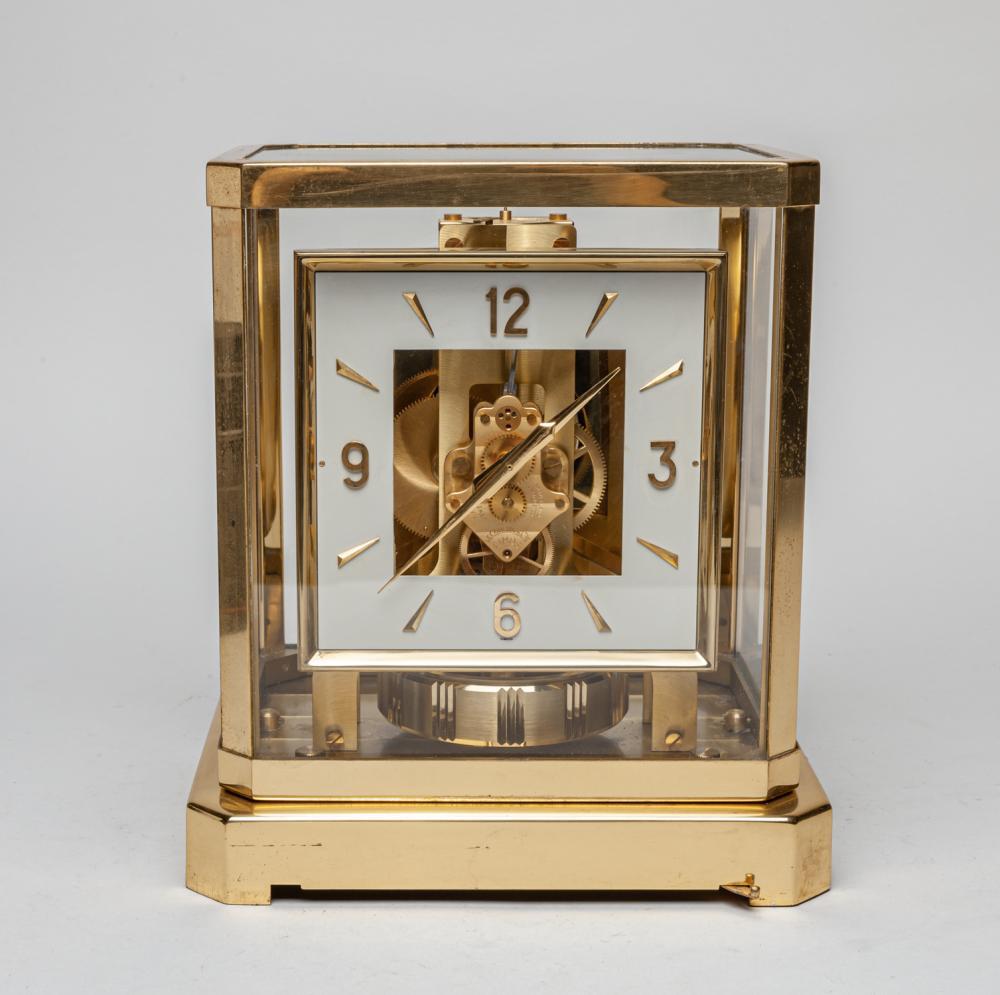 Vintage Atmos Swiss Mantle Clock
