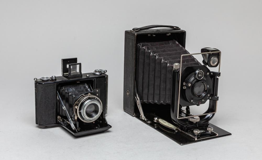 Set Vintage Zeiss Ikon Camera
