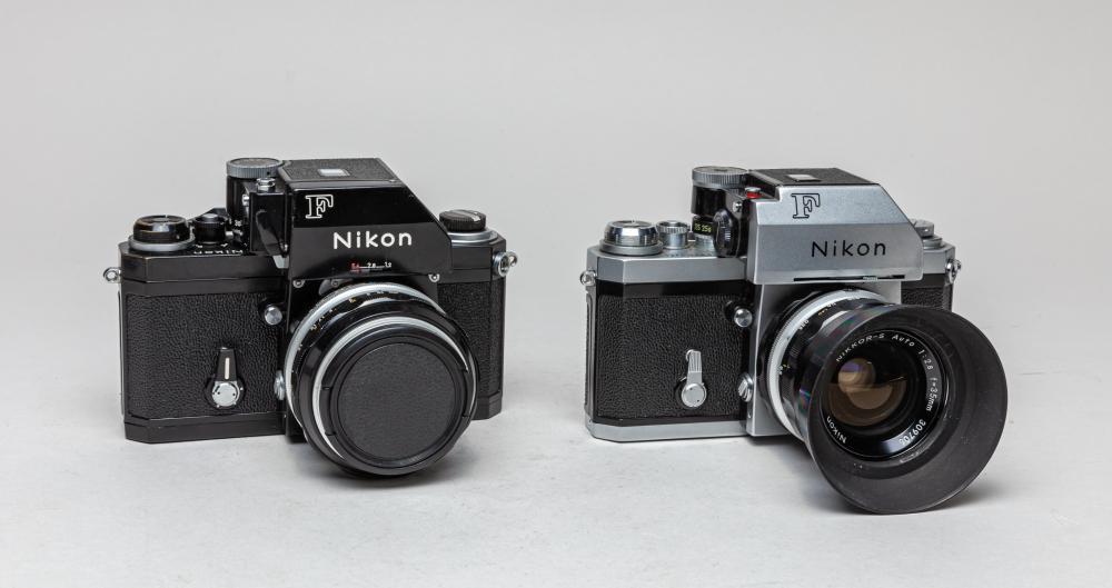 Set Vintage Nikon Camera