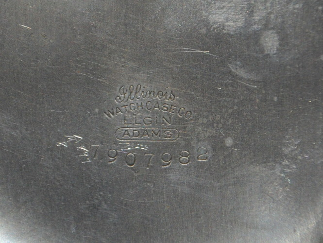 scratched watch crystal