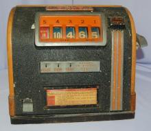 Art Deco Great States Mfg. Twenty One Counter Top Trade Stimulator Machine, Circa 1930's: Marked