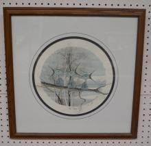 P. Buckley Moss Framed Print,