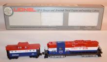 Lionel GP-9 Bangor & Aroostook Diesel Engine and Matching Caboose