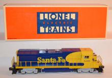 Lionel Electric Trains Santa Fe Dash 840B Diesel Locomotive #6-18206. In the Original Box. Sells as is, where is.