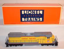 Lionel Trains Union Pacific 9100: Union Pacific Dash-8 40C Diesel Locomotive with the Original Box. Sells as is, where is.