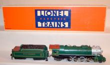 Lionel Electric Trains Famous American Railroad 2-8-2 Southern Mikado Steam Engine and Tender #6-8309. In the Original Box. Sells as is, where is.