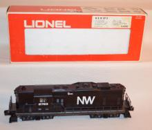 Lionel Train Engine N&W GP-9 Engine #8763 with the original box. Sells as is, where is.