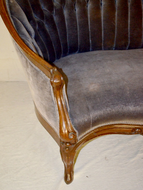 how to clean antique velvet upholstery
