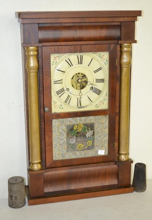 Antique seth thomas split column weight driven shelf clock - Antique clock designs for your home ...