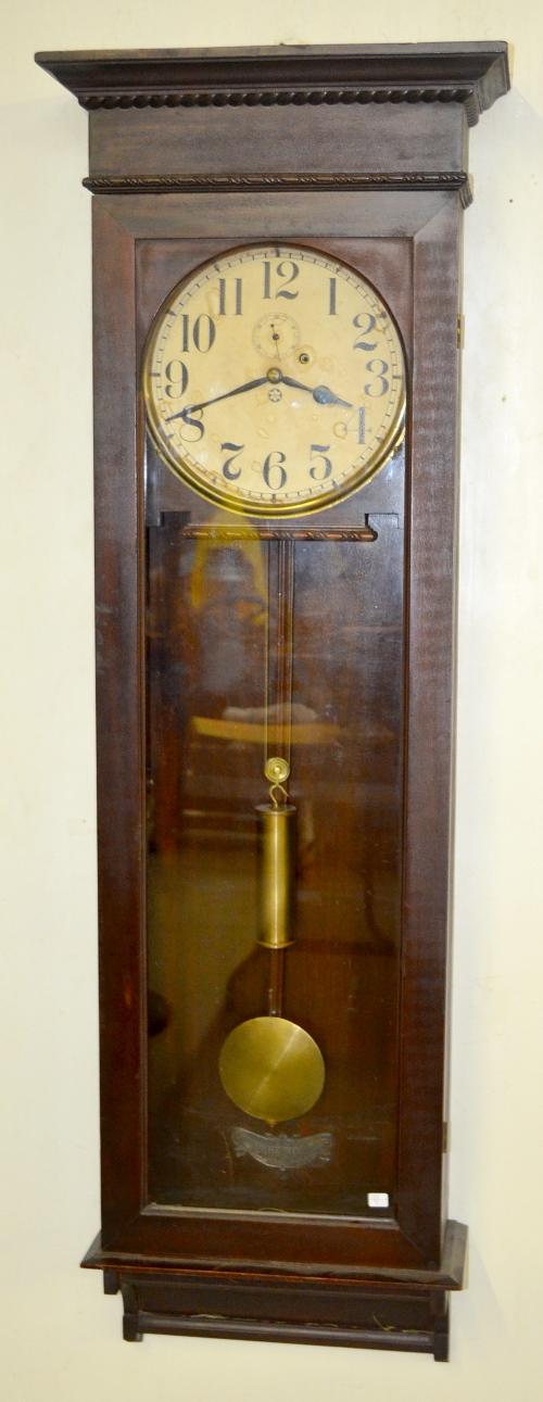Antique new haven wall regulator clock stanton with a mark - Antique clock designs for your home ...