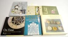 6 Hardbound Reference Books on The History of Time and Clocks. Please see the phots for titles. All are in good condition. All sell as is, where is.