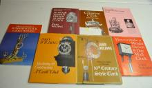7 Reference Books on Constructing Special Clocks by John Wilding,