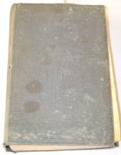 1854 Treatise on Clock & Watchmaking Book, Fifth Edition, Hardbound, by Thomas Reid: Published by Blackie & Sons. The books appears to be complete. (The book needs to be re-bound or repaired. It is also water stained.) Sells as is, where is.