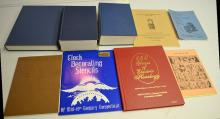 8 Reference Books and Pamphlets on the NAWCC Bulletin and Specialty Pamphlets: 4 are hardbound and 4 are softbound. Please see the photos for titles. All are in good condition. All sell as is, where is.