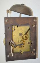 Antique Bell Striking Clock Movement; Brass Plate. Completeness not known. Please view photos. Not tested. Sell as is, where is.
