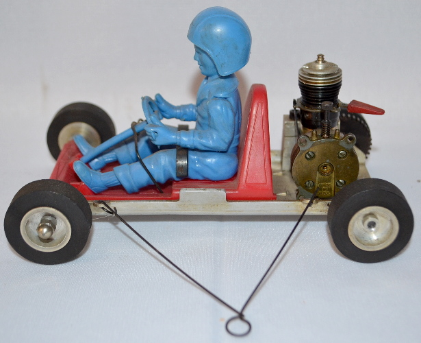 VINTAGE 1960'S OK CUB GO-KART TETHER CAR: THE CAR IS IN VERY
