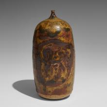 """Rose Cabat (1914-2015) Feelie vase 3 1/4""""dia x 6 1/2""""h"""