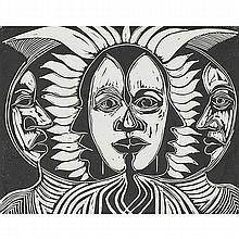 Allen Stringfellow (American, 1923-2004) Gossips