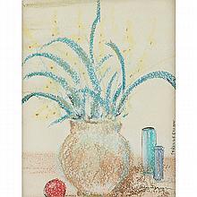 Allen Stringfellow (American, 1923-2004) Still Life with Plant