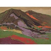 "Ethel Magafan (American, 1916-1993) ""Distant"