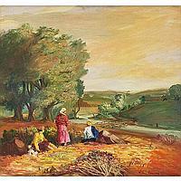 "Glen Allison Ranney (American, 1896-1959) ""Farm"
