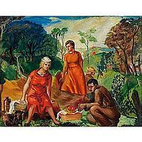 "Glen Ranney (American, 1896-1959) ""Picnic,"" c."
