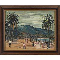 "Rudolph T. Pen (American, 1918-1989) ""Haitian"