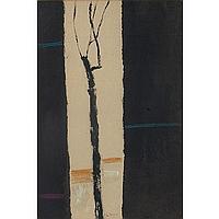 "Arthur Flory (American, 1914-1972) ""Winter,"" 1968,"