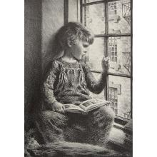 James Chapin, (American, 1887-1975), Child at Window; together with Lawrence Beale Smith (1909-1995), Windy Hill; C. W. Anderson (18...